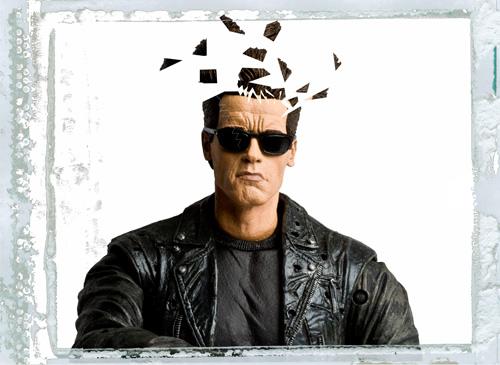 Terminator Tête éclatée