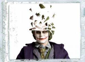 Joker tête eclatée