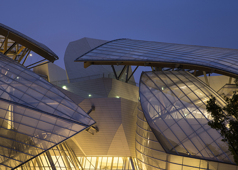 REPORTAGE FONDATION LOUIS VUITTON